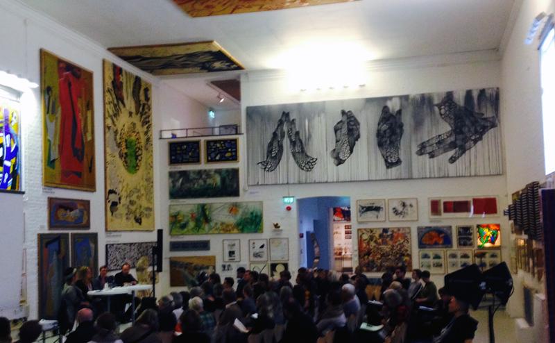 Paneldebatt på Skissernas Museum