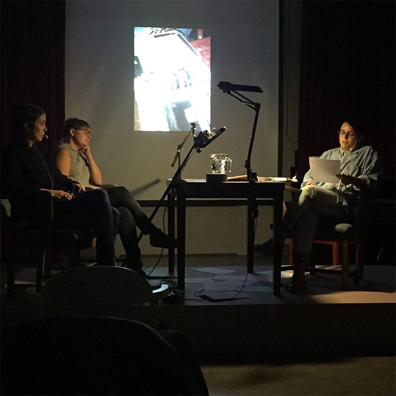 N15-föreläsning på Ystads konstmuseum med Mariana Alves Silva
