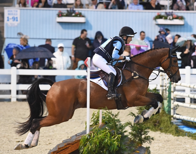 Right Above It  - Successfully competing at CCI** level ( COTH )