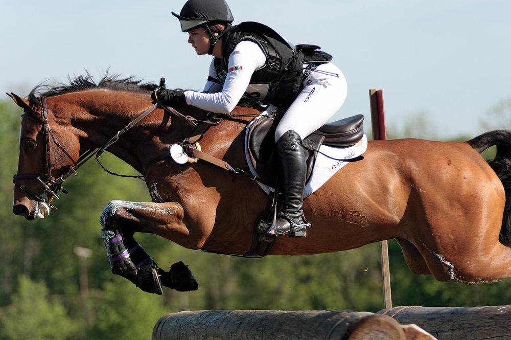 Inoui van Bost  - Successful CCI** Young Riders mount