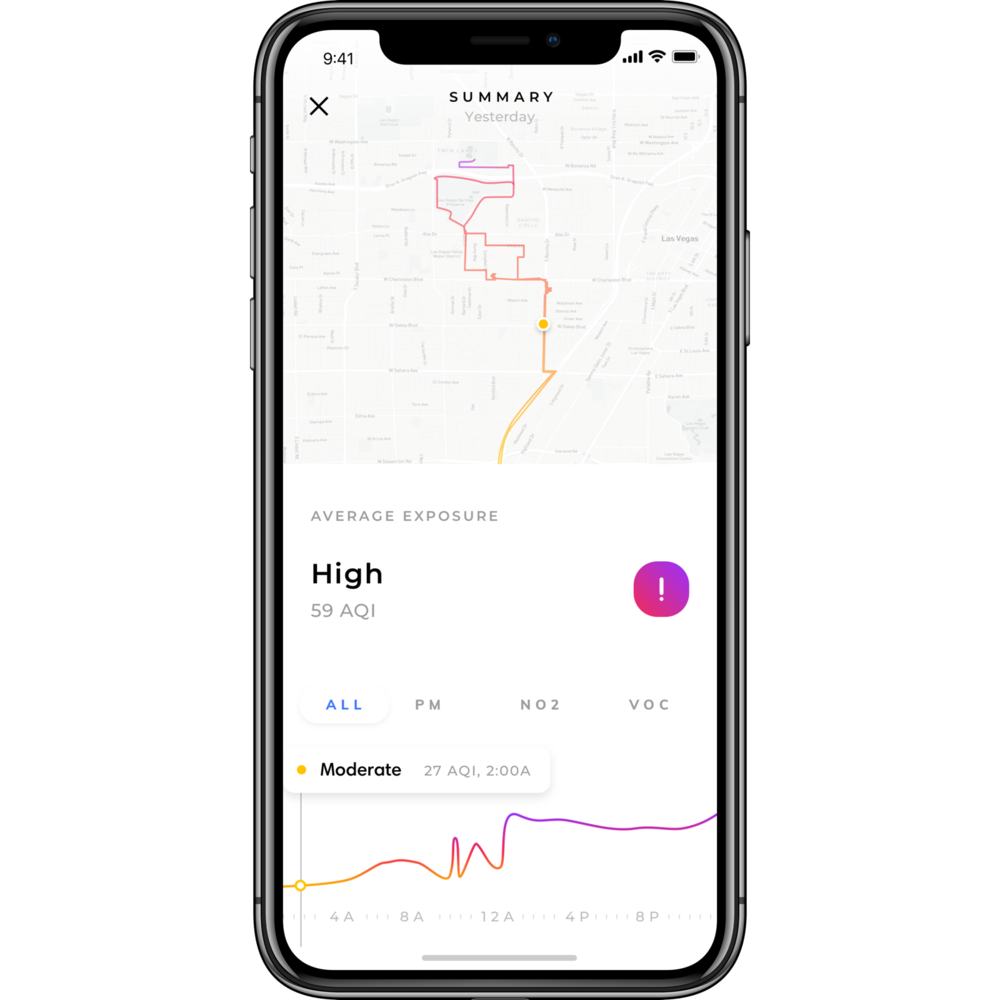 Avoid the most polluted places in your city - With Flow, pollution monitoring becomes hyper-local