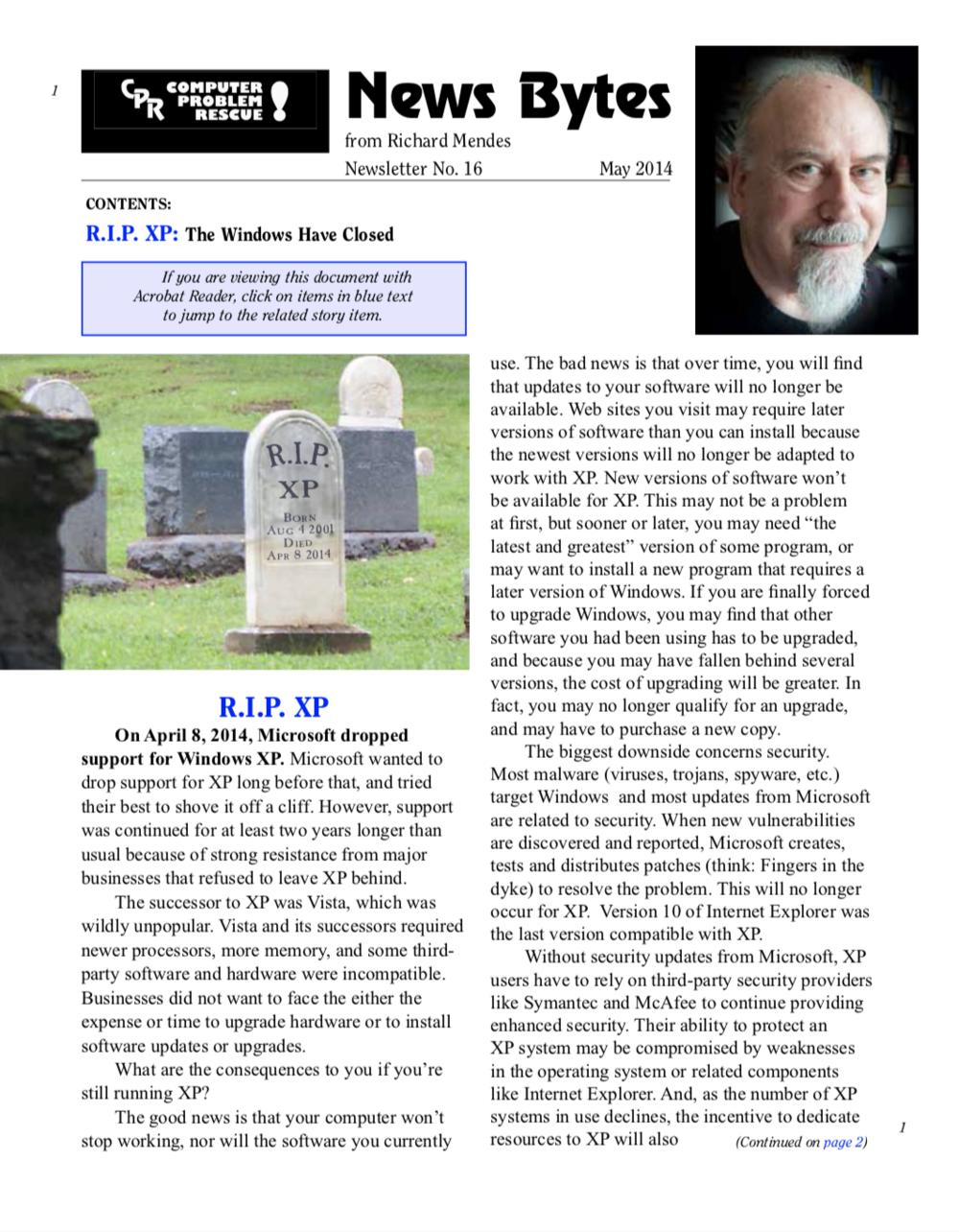 CPR News, No. 16 -