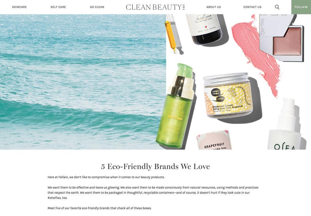 Follain Company Blog