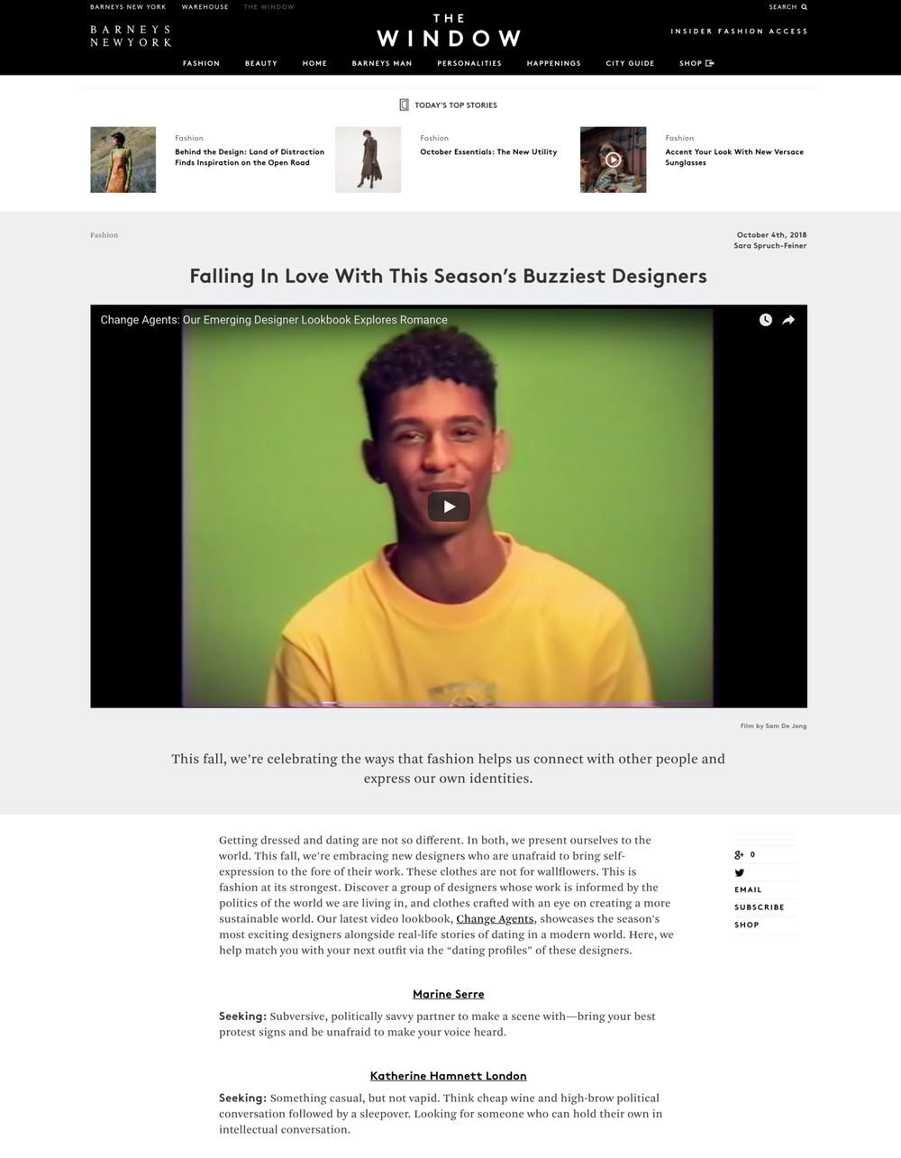Barneys New York – The Window Company Blog