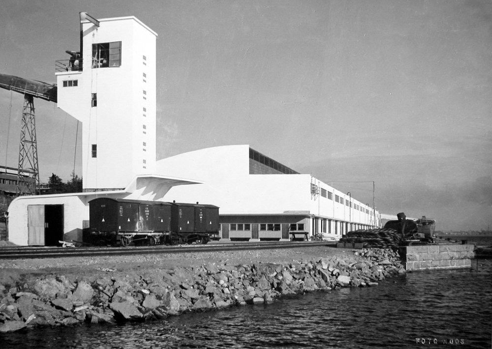 ©Kuva: Foto Roos 1.6.1938 –Sunila Oy:n arkisto.