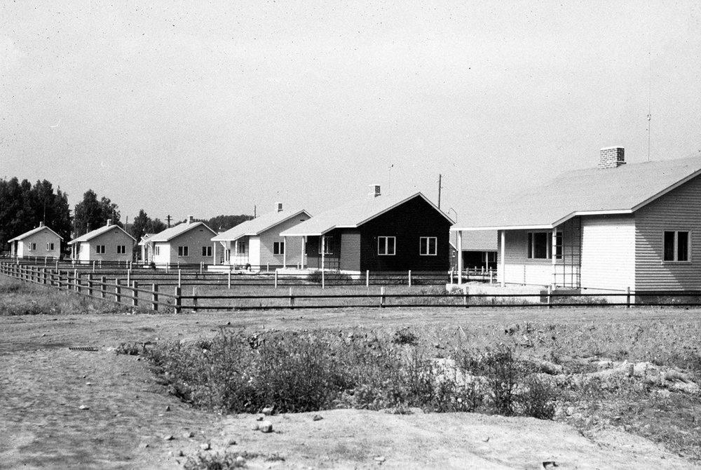 Puistola 30-luvulla.