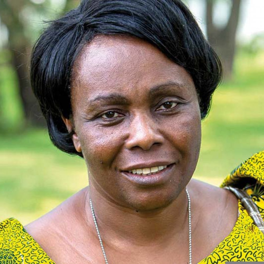 Julienne Lusenge, Founder of Congolese Women's Fund and SOFEPADI, and Executive Producer of  Wamama Tujenge .