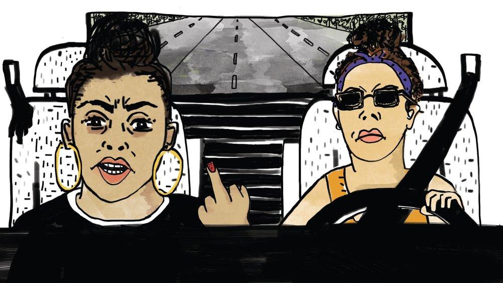 Still from  I Am Not Jay-Z  animation