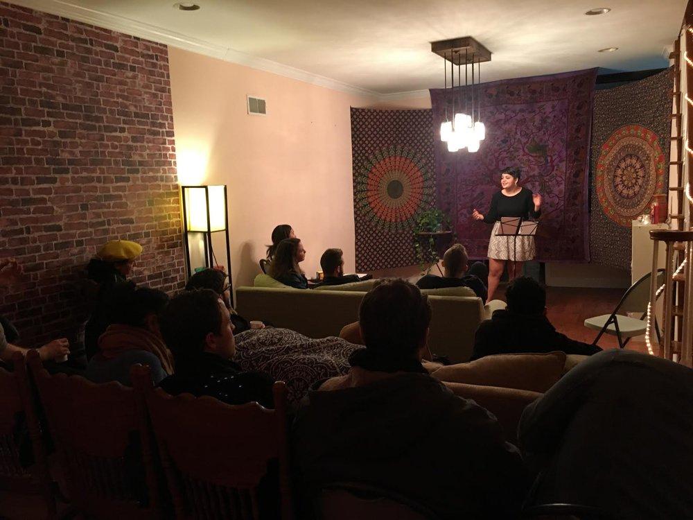 Samya Abu-Orf | Poetry Reading 2018