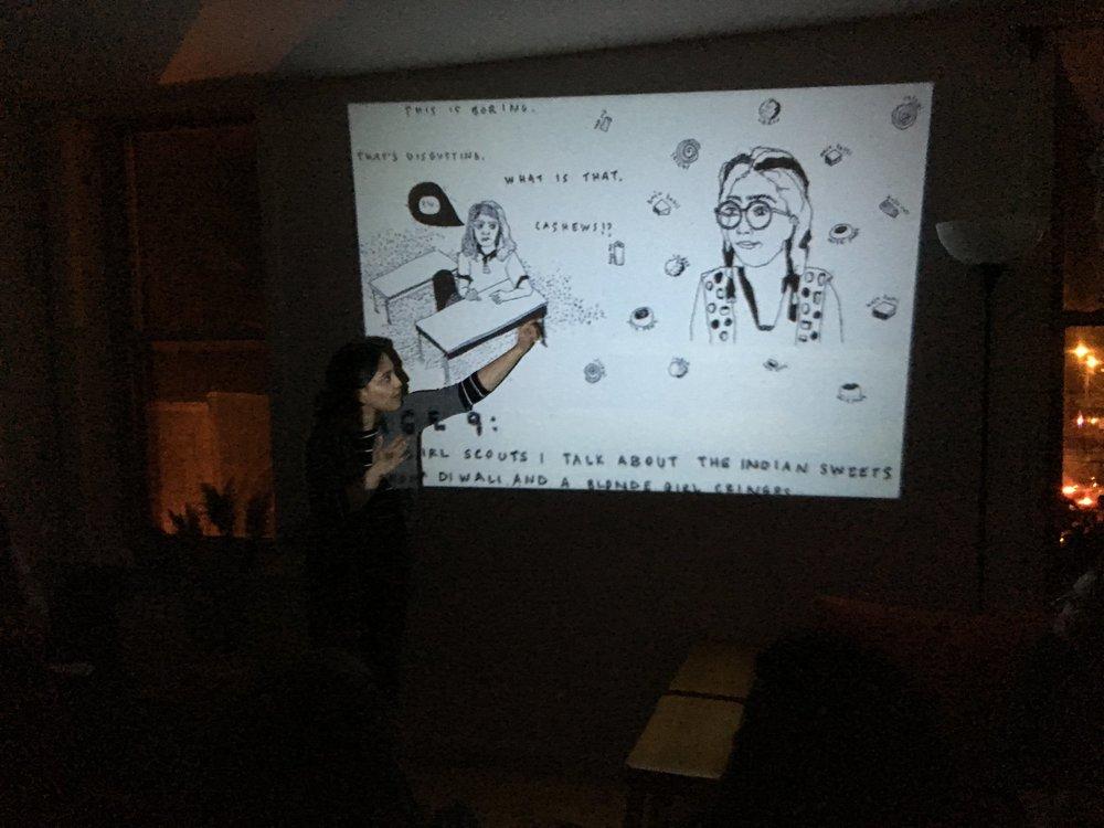 Soumya Dhulekar | Comic Reading 2018
