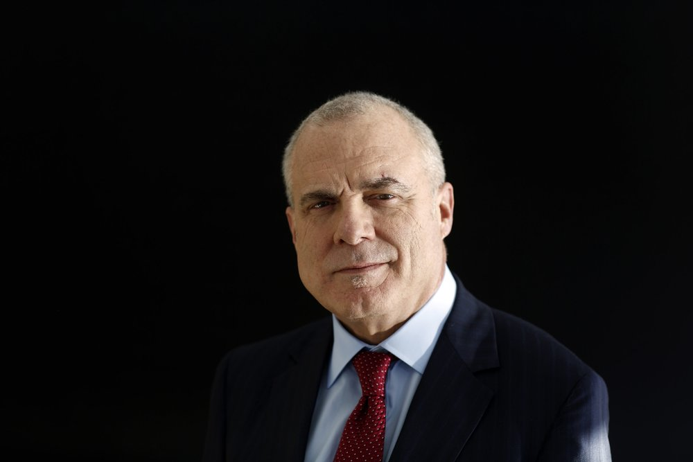 """Mark Bertolini ;  CEO, Aetna  """"Everyday I get up at 5:30 to do my practice because I know I'm headed into a chaotic world where I'm going to hear a lot of good and bad things, and I'm going to be challenged about my own worth."""""""