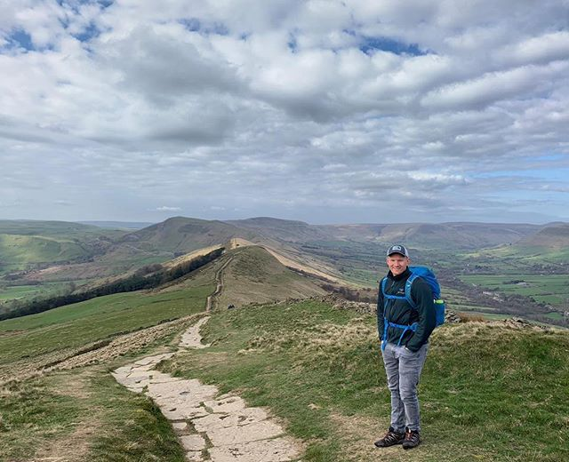 Some of the best adventures don't cost a penny. Following a path along a ridge in an old pair of trainers is invigorating and exciting... time to get planning for the weekend. #peakdistrict #hiking #hikingadventures