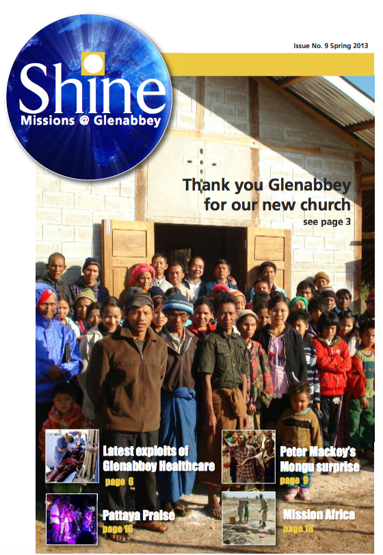 Shine Issue 9 - Spring 2013