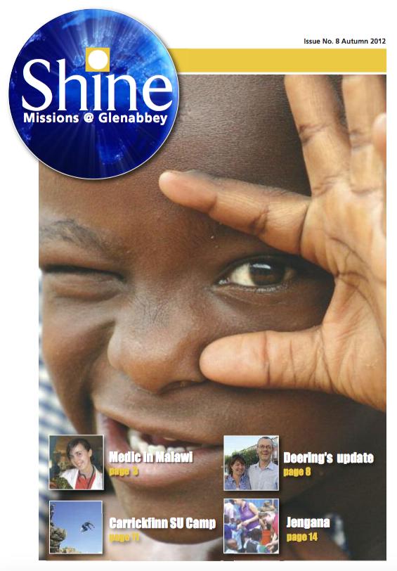 Shine Issue 8 - Autumn 2012