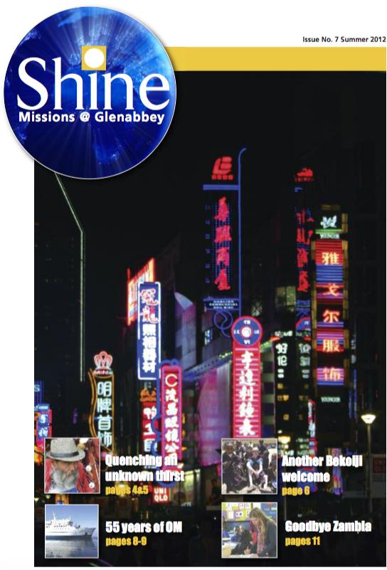 Shine Issue 7 - Summer 2012