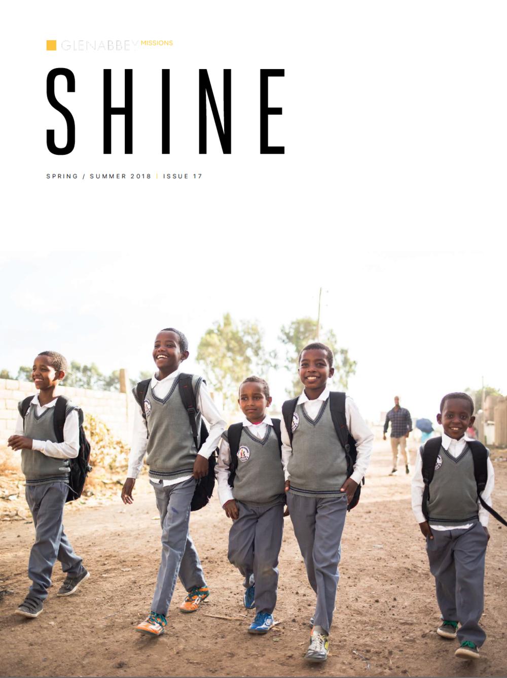 Shine Issue 17 -Spring / Summer 2018