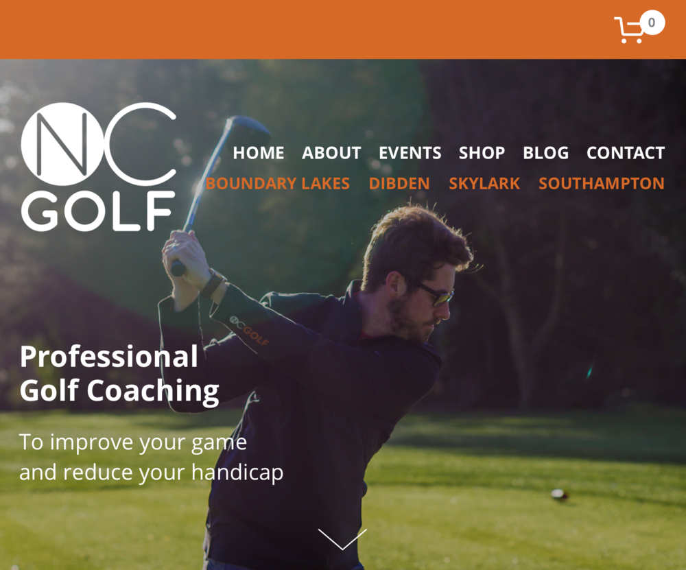 NC Golf Website