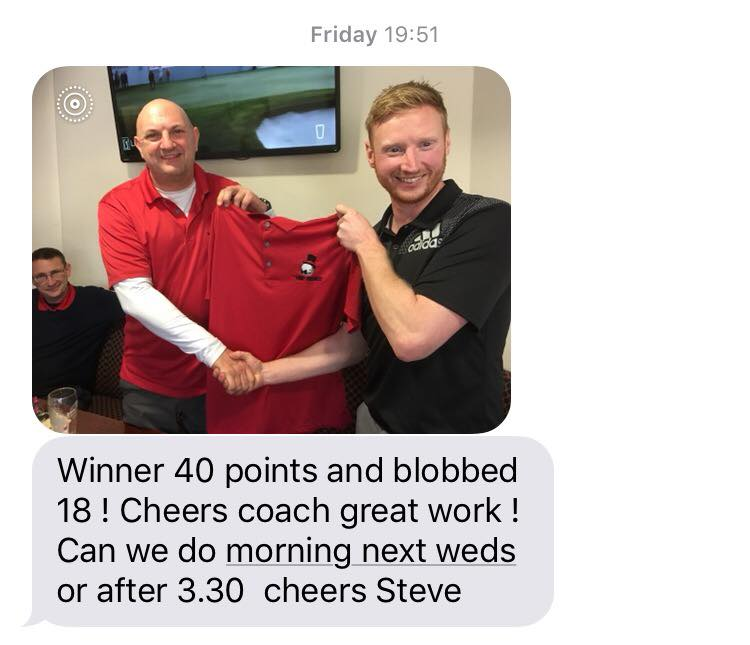 Message from Steve Cox