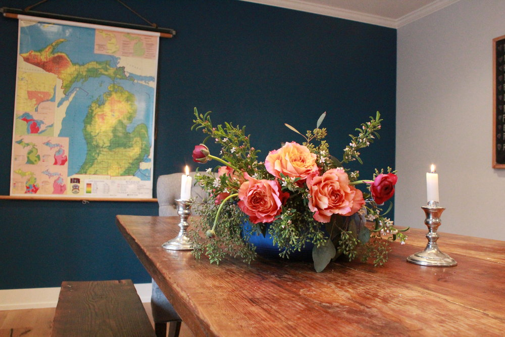 Amazing flowers from the talented  Spring Sweet  in downtown Holland, Mi.
