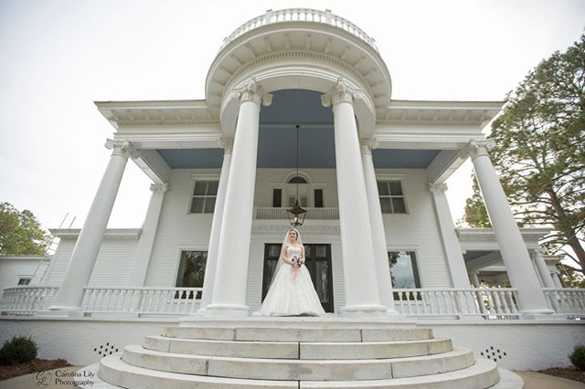 The majestic River Forest Manor is the perfect venue for a Southern Bride! It is full of history and grandeur, and is just waiting for you! . . . . . #carolinalilyphotography #southernwedding #riverforestmanorandmarina #southernbelle #belhavennc @riverforestmanorandmarina