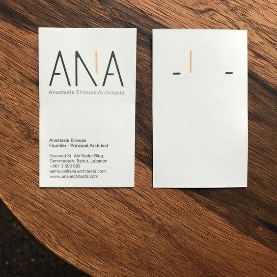 Anastasia El Rouss Architects / brand id