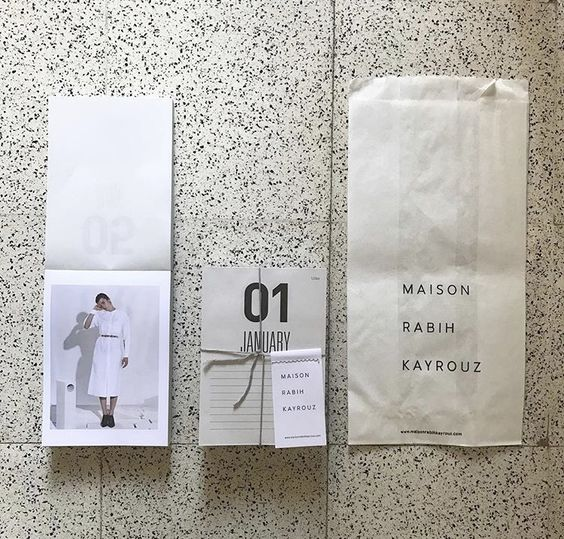 Maison Rabih Kayrouz / end of year give-away