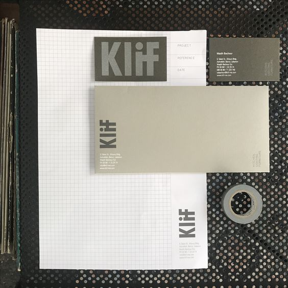 Klif kitchen lighting & furniture / brand id