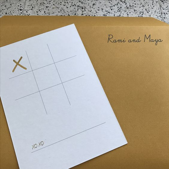 Rami & Maya's / wedding invites