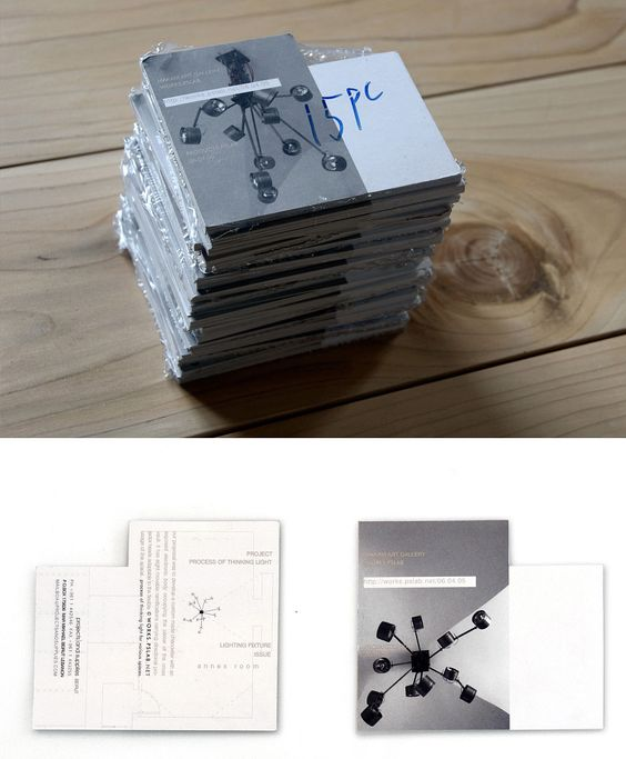 [...]Publication by PSLAB on Makam Art Gallery, Beirut, Lebanon. We created two sets of cards; one with the technical drawing of the fixtures in plan on the reverse side, the other with the drawing of them in elevation. Both sets of cards have.jpg