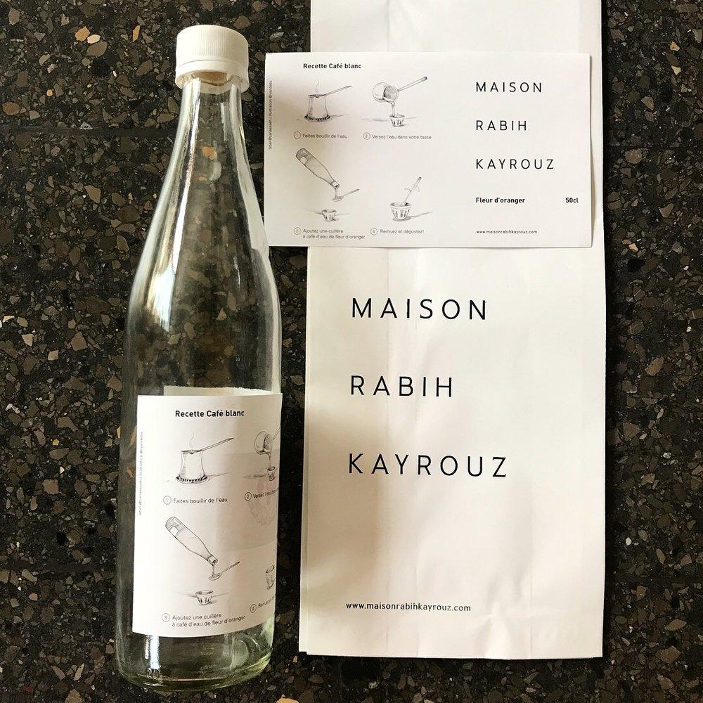 Maison Rabih Kayrouz / client's gift