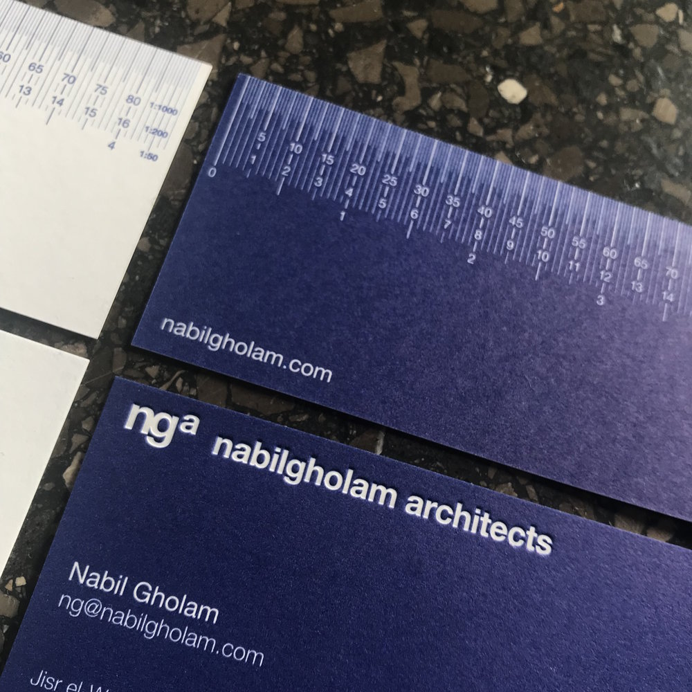 Nabil Gholam Architects / brand id