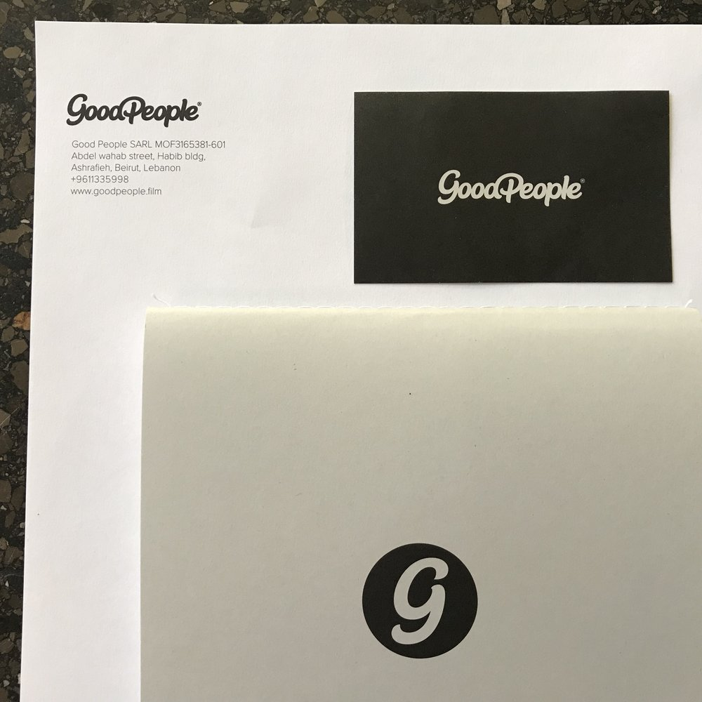 Good People production house / brand id