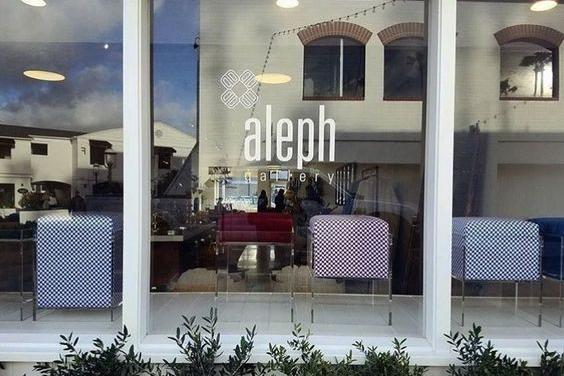 Aleph concept store / brand id