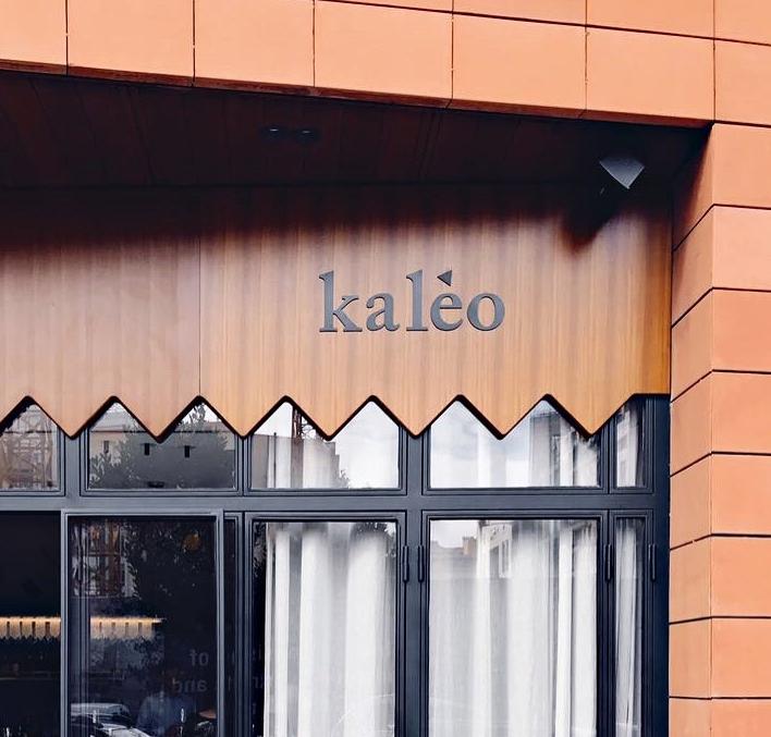Kaléo restaurant / brand id