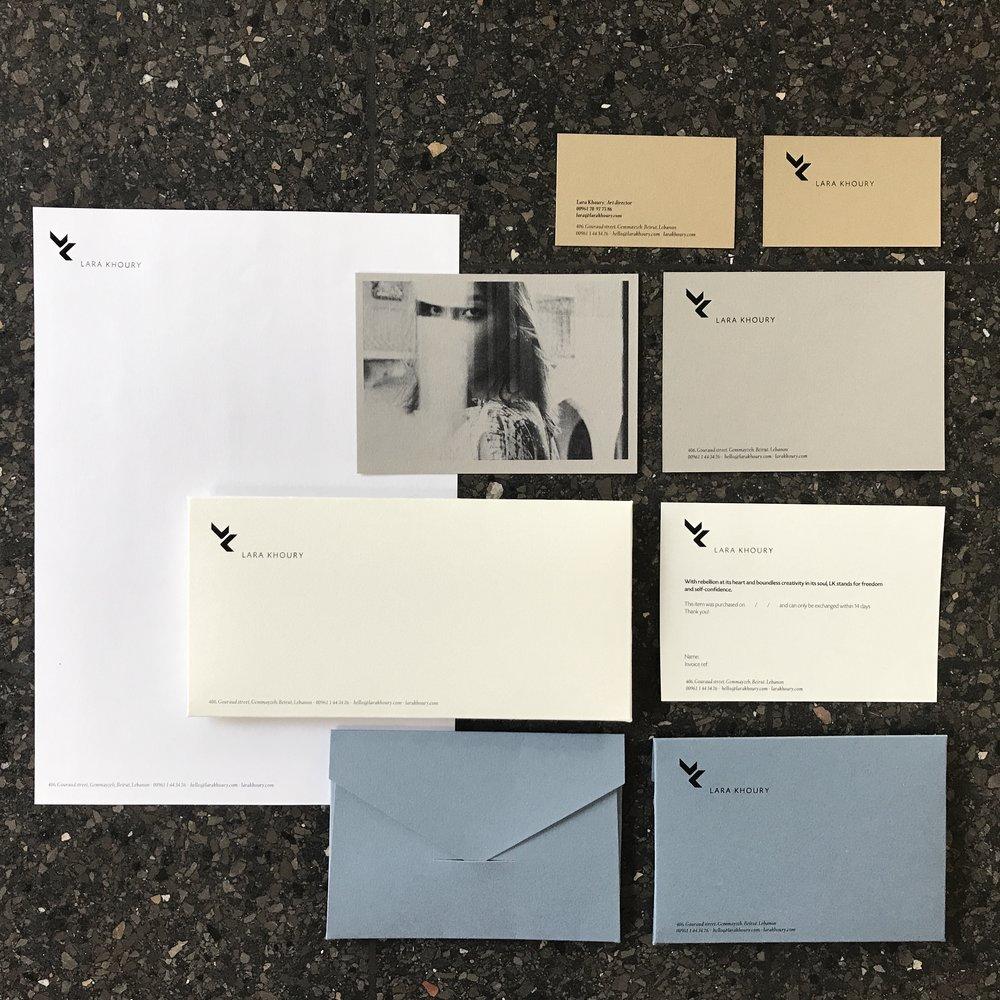 Lara Khoury fashion designer / brand id