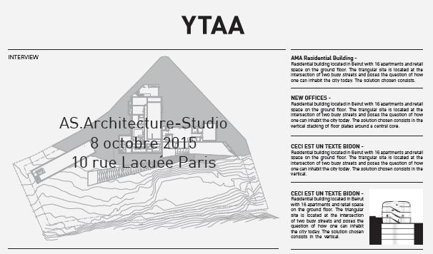 YTAA / newsletter