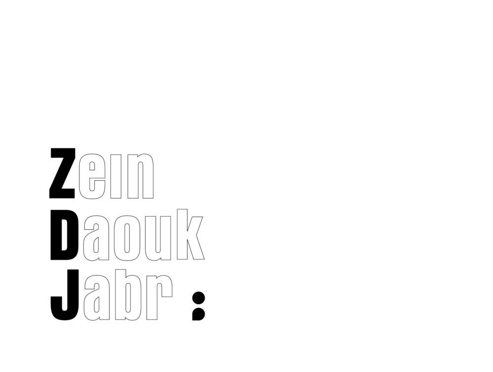 Zein Daouk Jabr / brand id