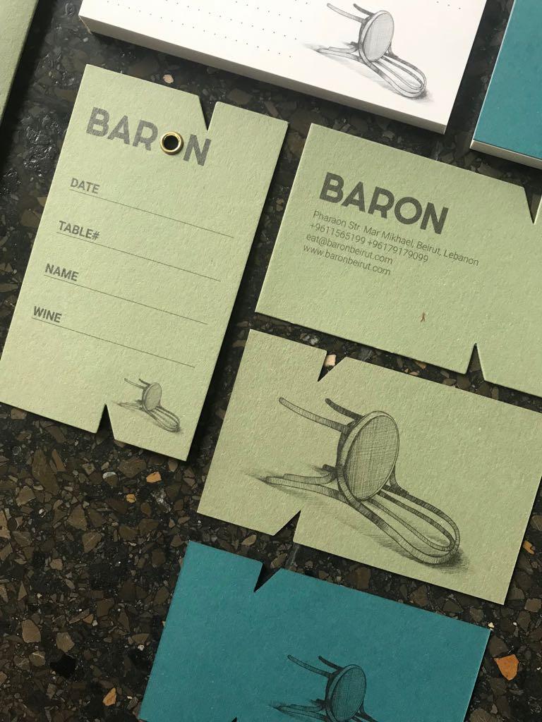Baron restaurant / brand id