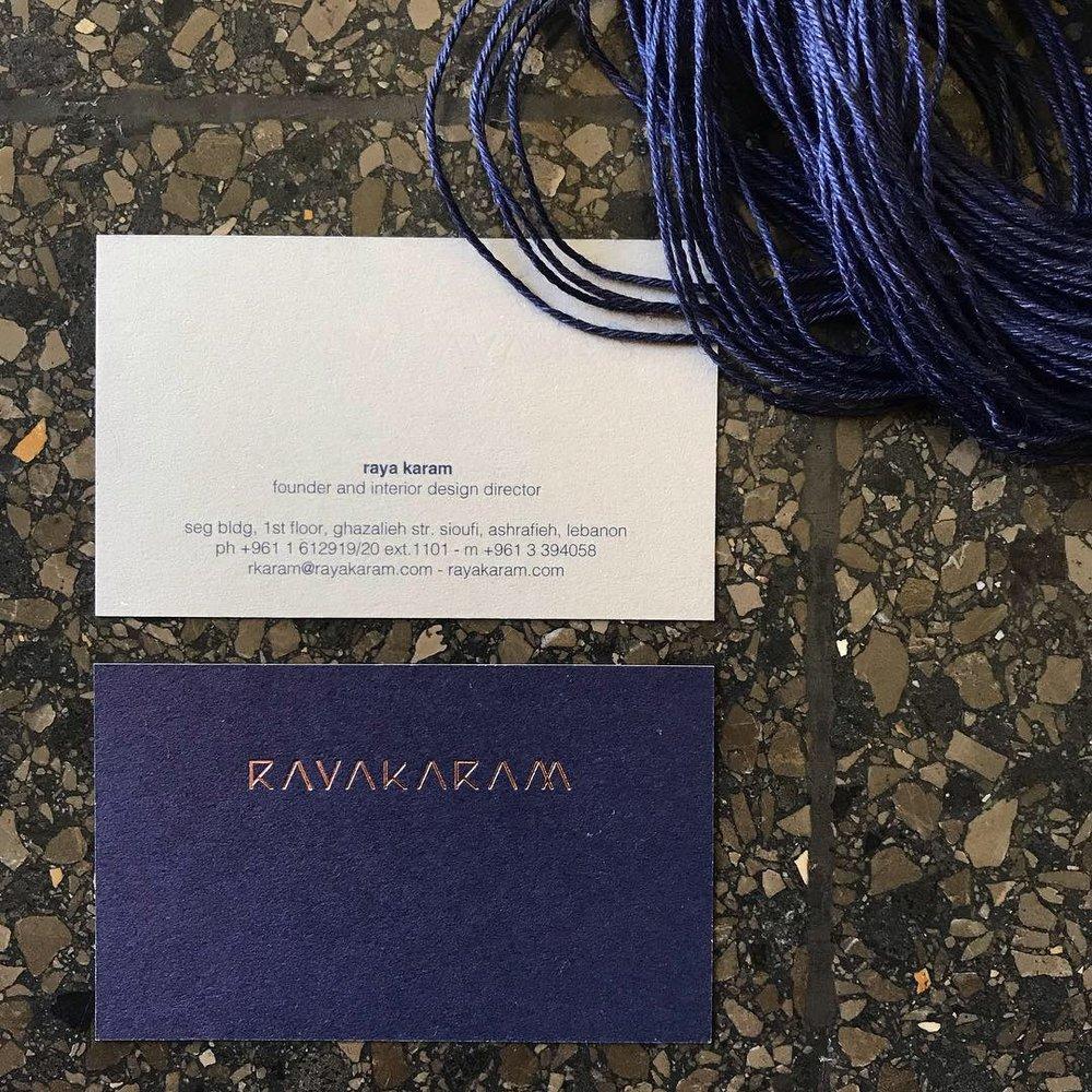 Raya Karam / brand id and web design