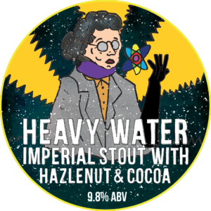 Heavy Water with Hazelnut and Cocoa Stout - Imperial Stout 9.8% // Beavertown - Similar to the Broken Dream above; I had this Hazelnut and Cocoa version before the regular Heavy Water version and again, this version reigns supreme. The extra chocolate and nutty flavours really elevated this stout. Big fan.