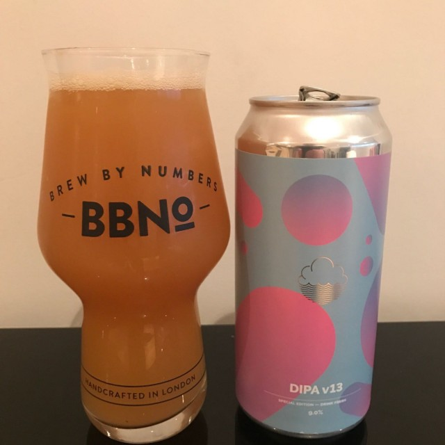 DIPA v13 - Double IPA 9% // Cloudwater Brew Co. - The last of Cloudwater's amazing V series goes out with a bang with v13. I didn't manage to try every version but did try 3, 6, 7, 10, 12 and 13. I'd say v13 is just behind v3 for me (v3 was the first I had so holds a special place).You know the deal with a Cloudwater DIPA by now. And if not, do yourself a favour and get drinking.