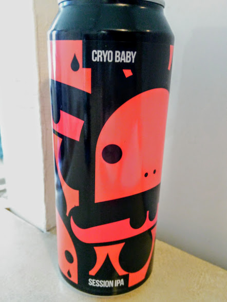 Cryo Baby -  Session IPA 4.8% // Magic Rock Brewing x CRAK Brewery - Great session IPA from Magic Rock. This has been developed in collaboration with CR/AK brewery in Italy. Bold, with a nice smooth finish and a slightly lower ABV which makes this an easy IPA to enjoy. Fantastic can art as usual from the Magic Rock guys.