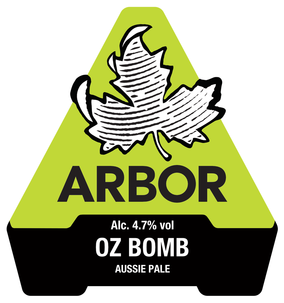 Oz Bomb - Australian  Pale Ale 4.6% // Arbor Ales - Whilst attending Victorious Festival in Portsmouth I was keen to check out the at the real ale tent. Unfortunately, the queues for the bars were pretty horrendous this year and I contemplated giving up. I held out however and managed to get my hands on some decent beer, often a rarity at music festivals that will typically serve overpriced lager-water. Oz Bomb was my choice of the festival, a refreshing, hoppy pale ale from Bristol brewers Arbour Ales, packed full of Australian Hops (hence the name). My first choice was actually Why Kick a Moo Cow (which I had to ask for repeatedly), also by Arbour Ales but it was off at the time. My other favourite of the festival was Arbour's Shangri-la (4.2% session IPA), an all-around good offering from Arbour Ales.