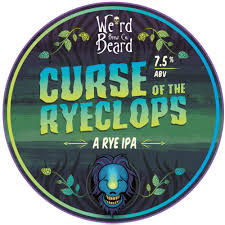 Curse of the Ryeclops - Rye IPA 7.5% // Weird Beard Brew Co. - This was another sampled during my trip to Camden. Curse of the Ryeclops is the sequel to the original Attack of the Ryeclops (both awesome names) by Weird Beard. A hoppy rye IPA which features tropical fruits with spicy pepper notes. Overall, a well-balanced beer, although to be honest, I was mostly sold on the Hammer Horror-esque name.