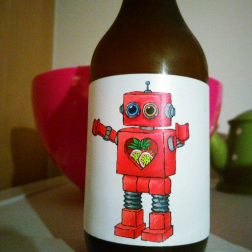 Red Robot - Double IPA 7.5% // Brewski - Brewski, from Helsingborg, Sweden has been on my radar for some time and I was keen to get my hands on some of their beers. Luckily the local bottle shop had recently received a delivery. By the time I got there though they had all gone… then out of the corner of my eye, I spotted this adorable little red robot looking on the shelf. I couldn't leave him on his lonesome so I picked him up and took him home. This strong double IPA contains a melody of tropical flavours; passion fruit, pineapple, and mango, which all combine brilliantly in this fruity concoction. I'll be looking out for more of Brewski's range and hopefully, they won't all be sold out next time.