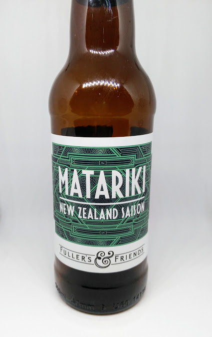 Matariki - New Zealand Saison 5.8% // Marble Beers x Fuller's Brewery - What the box says: Belgium meets New Zealand in this zesty, spicy ale. Using wheat, oats, rye and spelt alongside a quartet of Kiwi hops, we've created a beer that's both complex and very, very drinkable.Expectations: Possibly one of the more unique sounding beers of this project. I'm a big fan of Marble, I think they produce some of the best beers around at the moment and I'm yet to be disappointed by them. I wasn't really sure what to expect from this New Zealand Saison as to me, it conjures up conflicting flavours and styles. Billed as