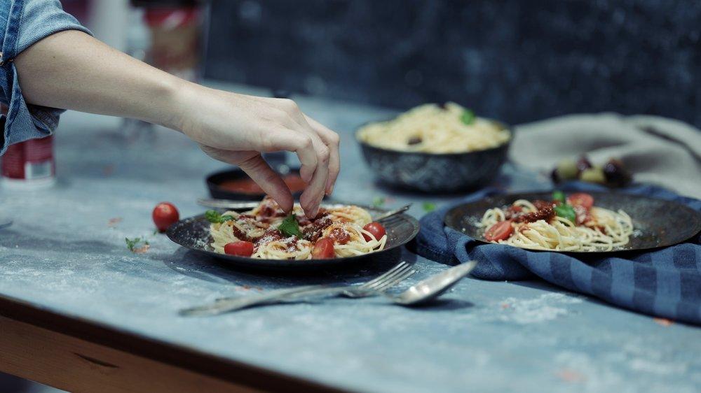 Le comptoir Fabrizia - Pâtes fraîches et mets italiens à emporter, situé dans le Mile End, à Montréal.