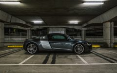 Audi R8 - Drive an absolute rocket.