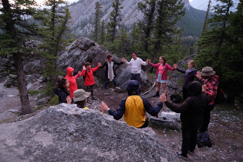 Outdoor School Banff Residency Amish Morrell