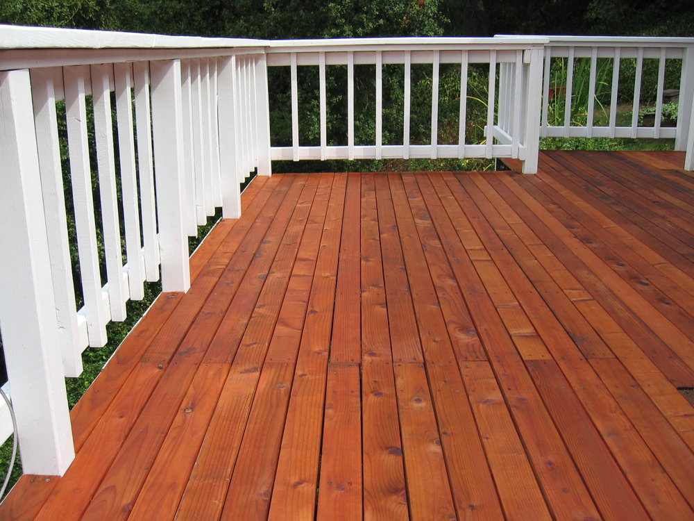 Decks - Indian River residents love their decks. They are a great place to relax and entertain - they are the outdoor room extension of the house. But Florida weather is hard on our prized decks. Sun, rain, wind, dirt, and foot traffic can result in considerable wear and tear. Rick Reynolds Quality Painting can help you with your deck maintenance needs. We offer deep clean pressure washing services to remove mildew stains, dirt, and contaminants. Then we will work with you to determine the best staining or painting options to restore your deck to its original beauty. Give us the opportunity to transform your deck back into the place where you want to go to enjoy our great Indian River weather.